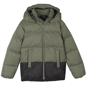 Reima Teisko Down Jacket Youth greyish green